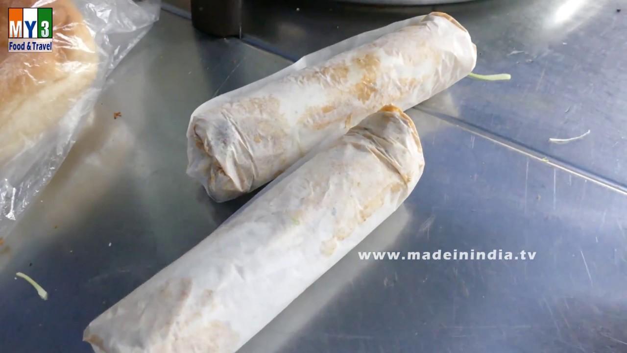 Chicken shawarma roll - photo#40