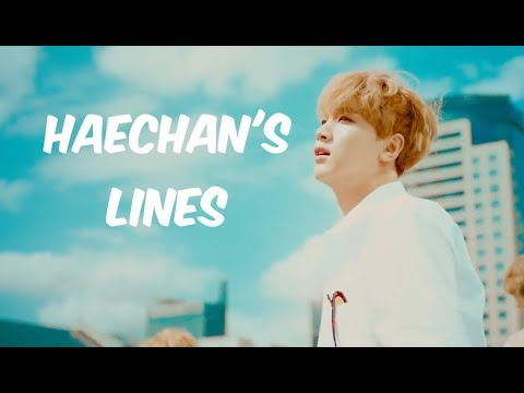 Every Nct Mv But It's Only Haechan's Lines