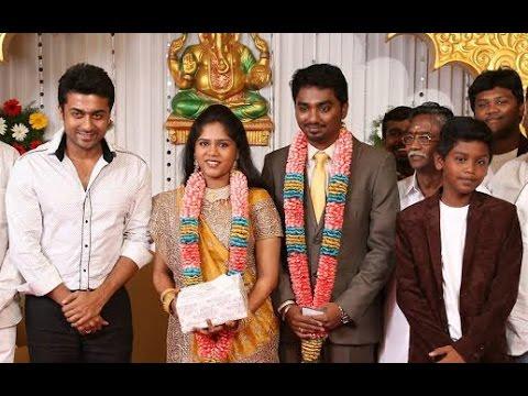 Vikram, Surya at Cinematographer Priyan Daughter Wedding Reception