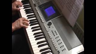 unchained melody, yamaha psr s700