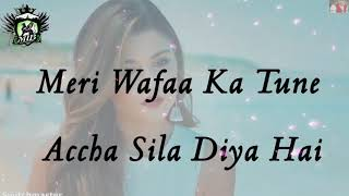 Afsos Mere Dil Ko Mujhko Bhula Diya Hai lyrics