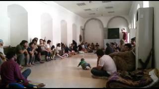 Дагестанцы в мечети в Сирии