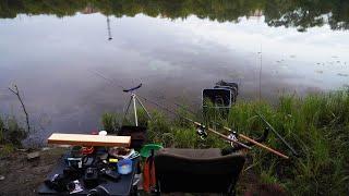 Ночная фидерная рыбалка Рыбы не было но мы ночь продержались