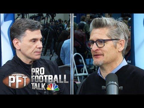 Falcons' Thomas Dimitroff Thinking About QB Future (FULL INTERVIEW)   Pro Football Talk   NBC Sports