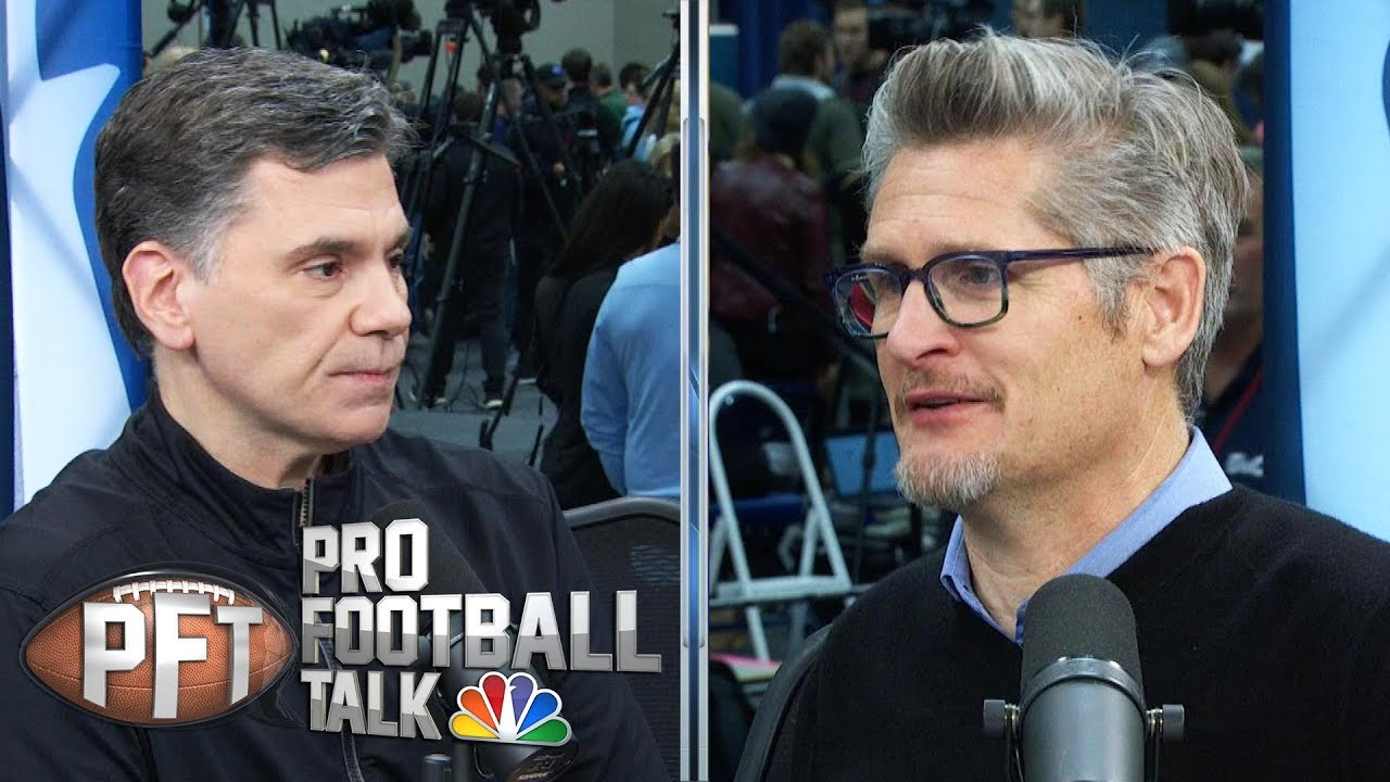 Falcons' Thomas Dimitroff thinking about QB future (FULL INTERVIEW) | Pro Football Talk | NBC S