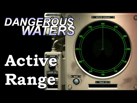 DW Experiments: Active Sonar Detection Ranges