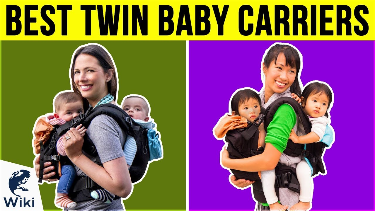 6 Best Twin Baby Carriers 2019