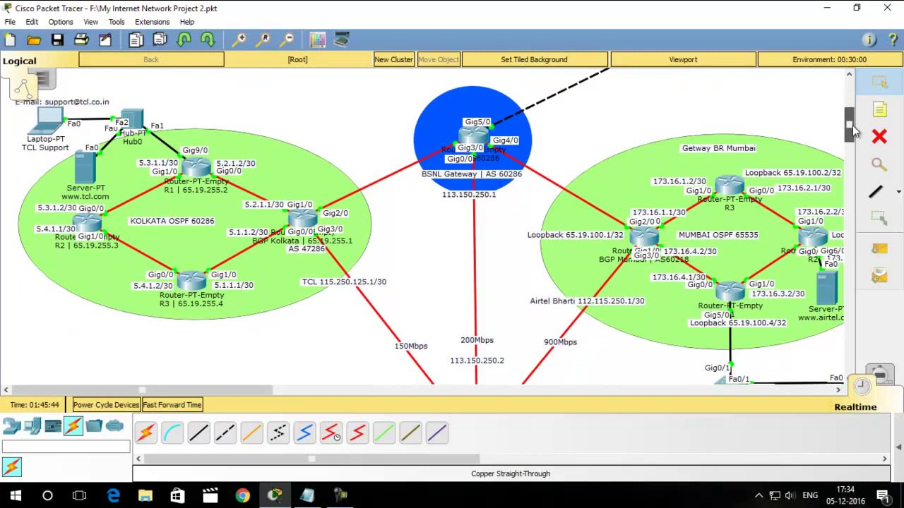 Vpn packet tracer lab