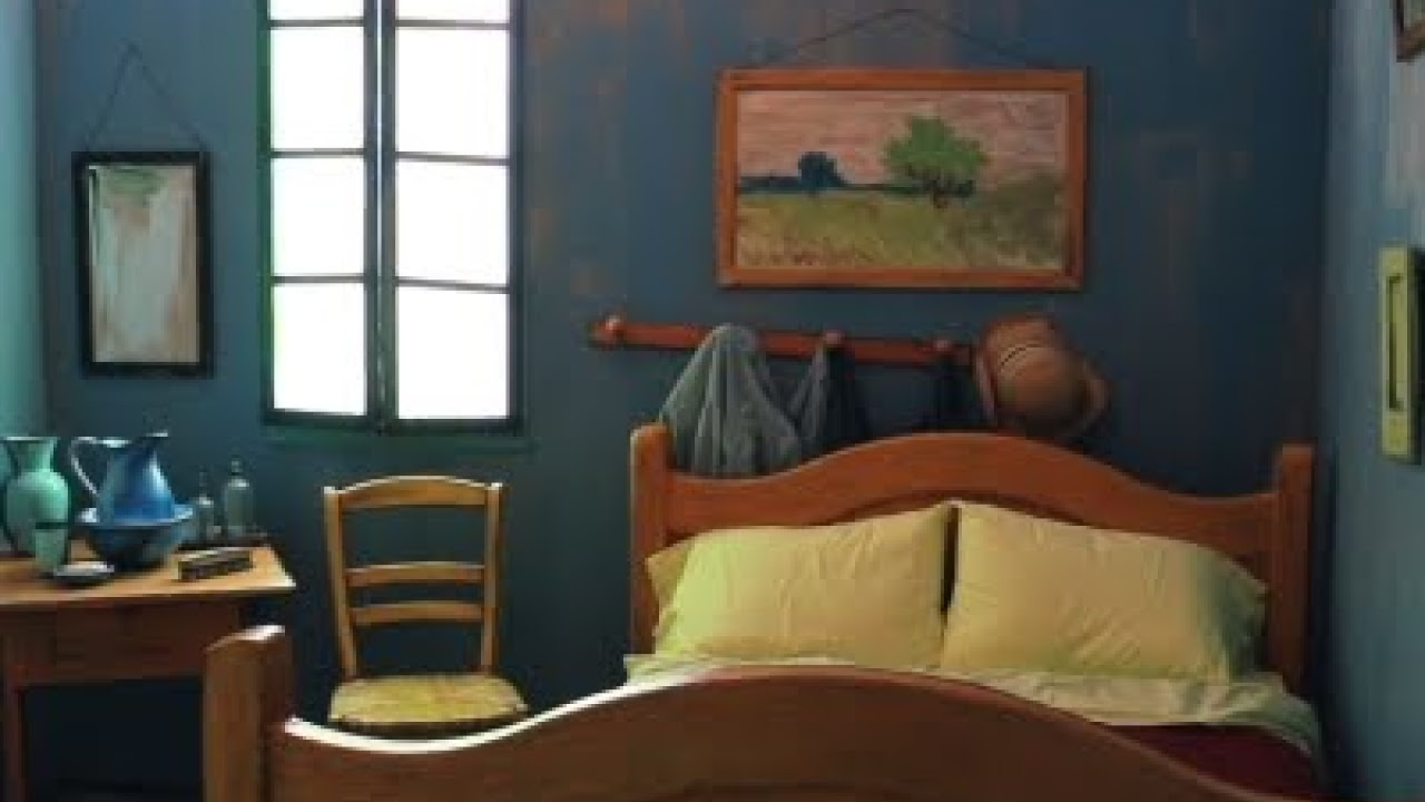 Vincent Van Gogh S Bedroom Listed With Airbnb Youtube
