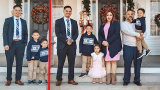 VISITING THE FAMILY FOR THE HOLIDAYS! -2020 FAMILY PHOTOS *MUST WATCH*