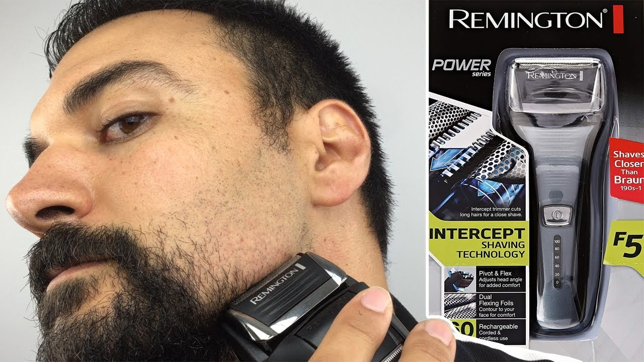 Remington F5 5800 Electric Shaver Foil Shaver Complete Review Youtube