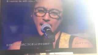 愛!wanma be with you をバズリズムで披露しました!