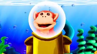 Aprendiendo a leer con El Mono Sílabo. TRA TRE TRI TRO TRU. Método silábico. Lunacreciente