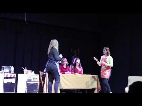 Teatro ANEIS-  Curso de Cociña