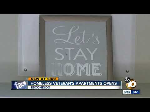 The Morning Rush - Apartments For Homeless Vets Opening