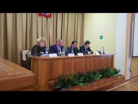 Совещание по всем вопросам ЖКХ в Курской области 16 апреля 2018 года