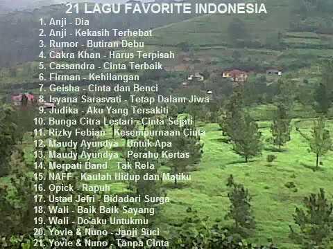 Musik Pilihan Indonesia Terpopuler