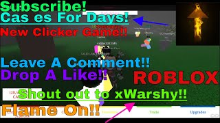 Nouveau jeu Clicker? - Cas es For Days - France Roblox