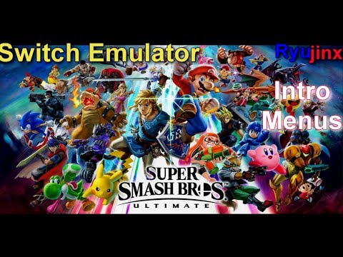 [Switch Emulator] Ryujinx | Super Smash Bros Ultimate | Booting | WIP |  TEST01