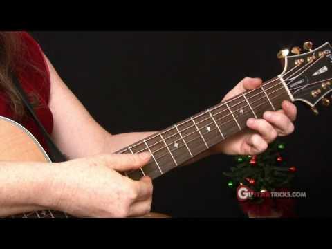 Christmas Songs for Guitar Easy Guitar Lesson - Guitar Tricks 36