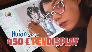 450€ Huion GT-191 Pendisplay Review 📝Tipps, Tricks, Fazit