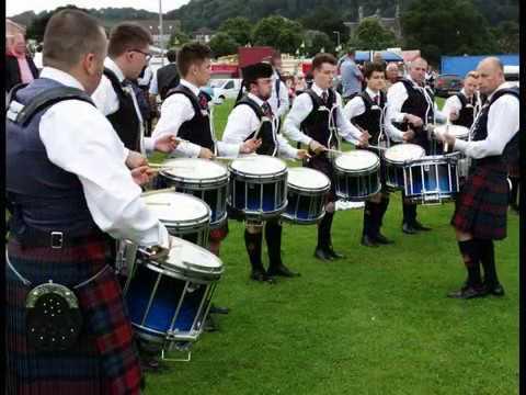 Pipe Bands Burntisland Fife Scotland