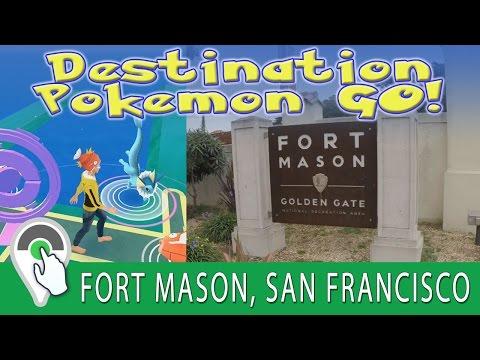 Destination Pokemon GO at Fort Mason in San Francisco, California! Shiny Magikarp Hunting!