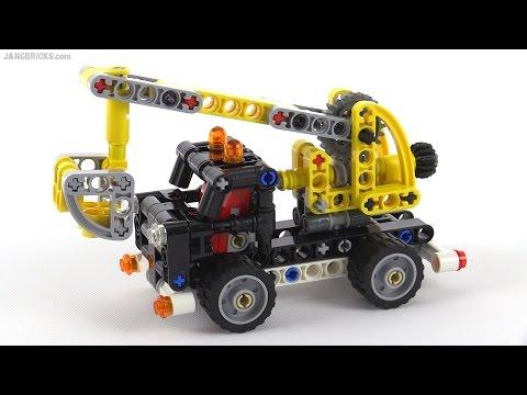 LEGO Technic mini Cherry Picker review! set 42031 - YouTube