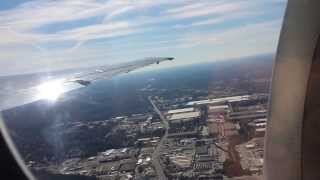 Taking off from Hartsfield-Jackson Atlanta International Airport