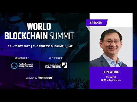 NEM in Action: World Blockchain Summit in Dubai