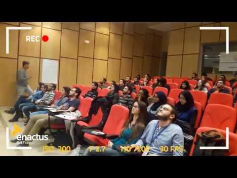 "Formation ""Strategy, branding & sponsoring "" ENACTUS ENETcom"