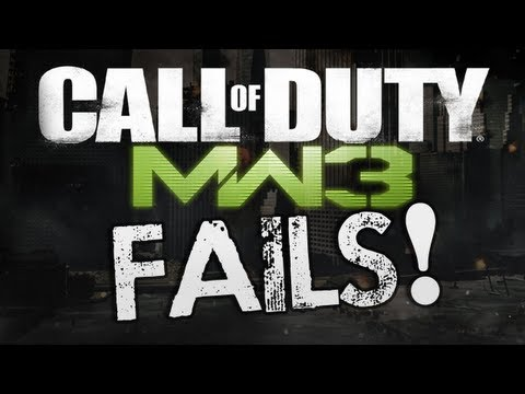 MW3 FAILS! (MW3 Funny Fail Clips)