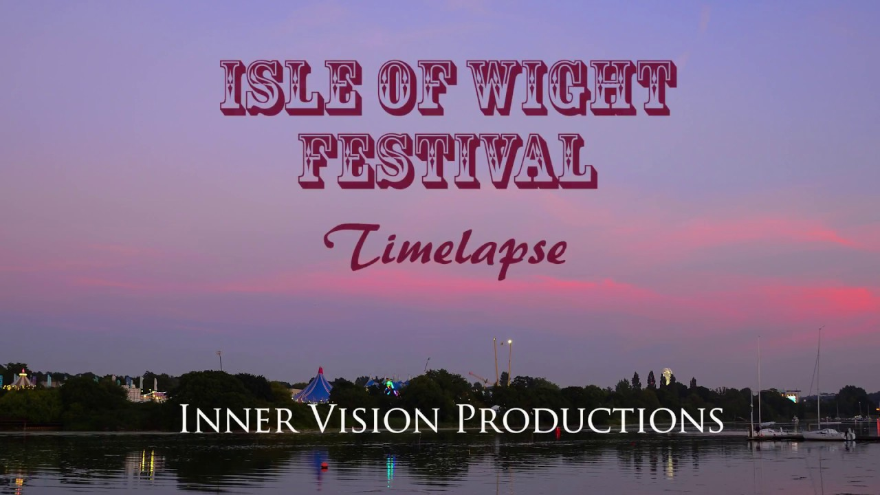 Isle of Wight Festival - Timelapse - Final Night and Fireworks by the River