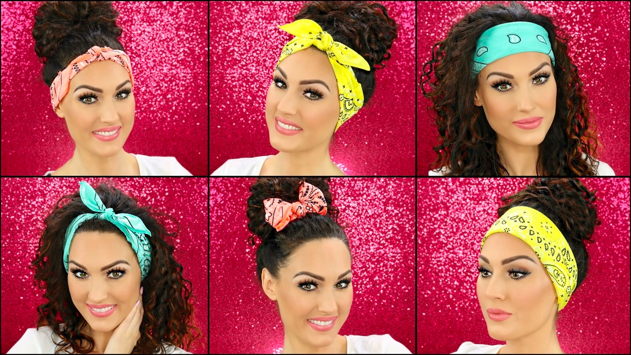How to Wear Bandanas in Your Hair - YouTube a6319d12dd9