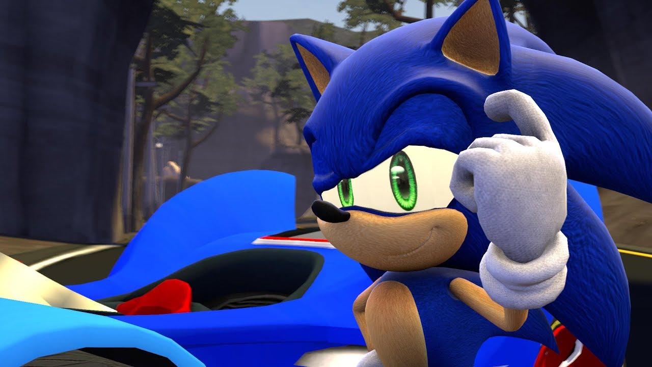 Sfm Why Sonic Drives A Car Youtube