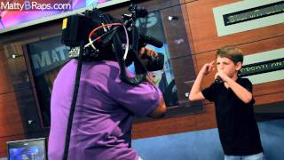 "MattyBRaps Performs ""Sugar Sugar"" on Better Mornings Atlanta CBS"