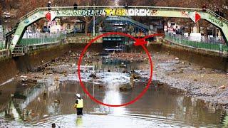 Hallazgos Sorprendentes Bajo El Agua Que Ha Sido Drenada