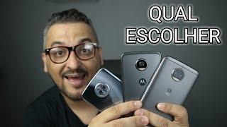 Moto x4 , Moto g5s plus e o Moto z2 Play - Qual Você Usaria?