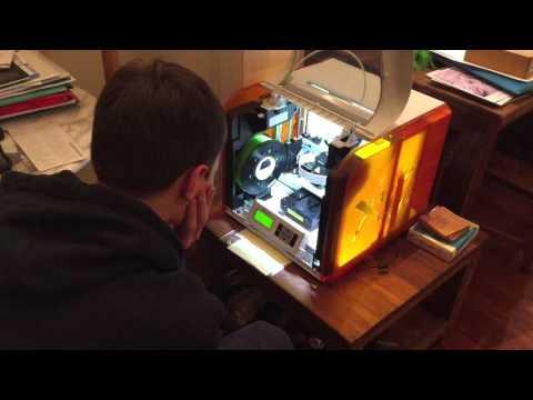 XYZ printer iPhone 5 case