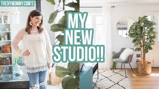 MY STUDIO IS DONE! 😍Tour & Story Time