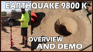 Hey guys, this is bear from bear's workshop. in video we are going over an earthquake 9800k 2 man auger. was our first use with equipment an...