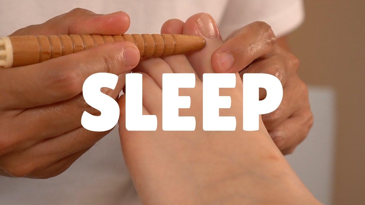 寝る足つぼ | 歩き疲れた営業女子に足つぼ | 偏頭痛