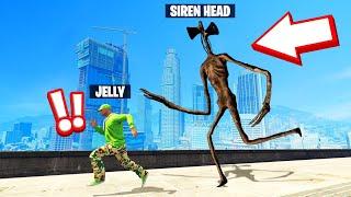 I Found SIREN HEAD In GTA 5! (Scary)