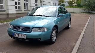 Audi A4 2000 седан 1.8 газ/бензин, автомат авто из литвы, купить авто в литве