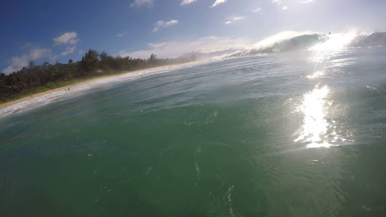 Elegant Log Cabins North Shore Oahu Bodyboarding Surfing Barrels Getting So Pitted  Again