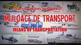 Sa invatam engleza - VEHICULE/Vehicles (+ADJECTIVE-Grade de comparaţie) - Let's learn English!