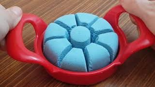 Very Satisfying and Relaxing Crunchy Kinetic Sand ASMR