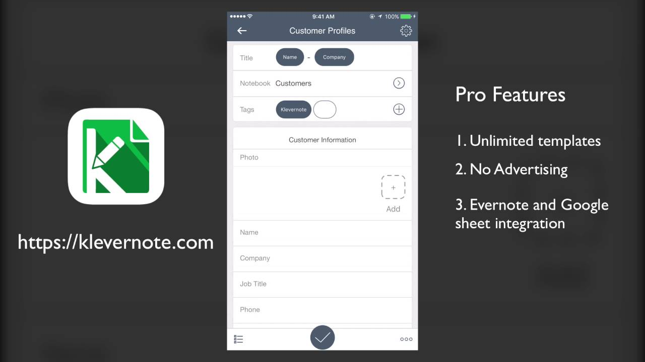 Klevernote: Databases and forms with Evernote and Google sheets sync ...