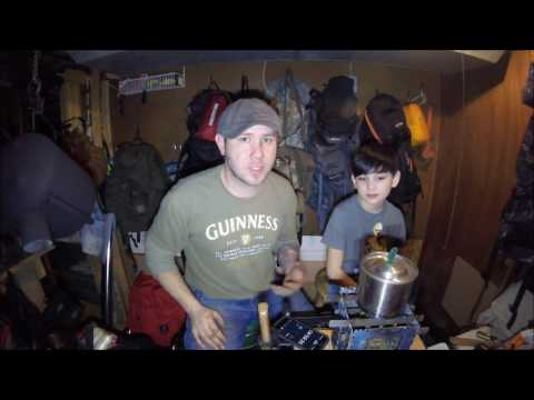 Bushcraft Essentials Bushbox LF Alcohol Burner Testing