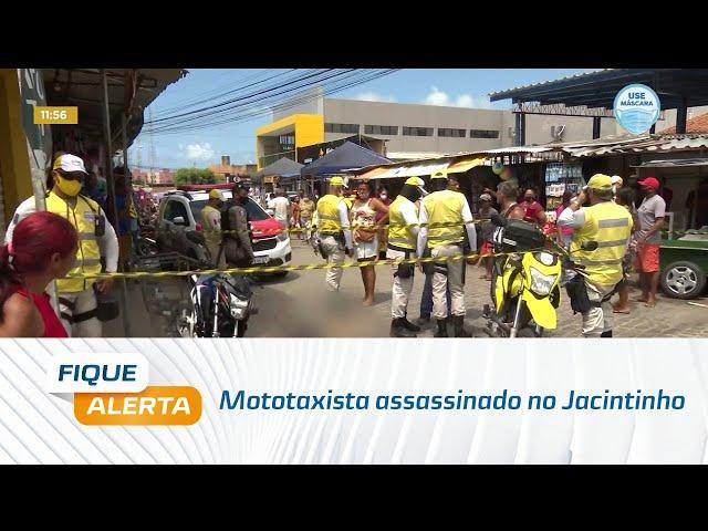 Mototaxista é assassinado a tiros no bairro do Jacintinho